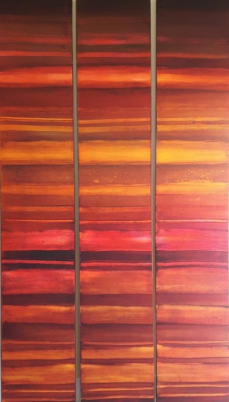 Afrika, abstrakte Malerei