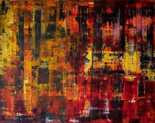 Colours, abstrakte Malerei