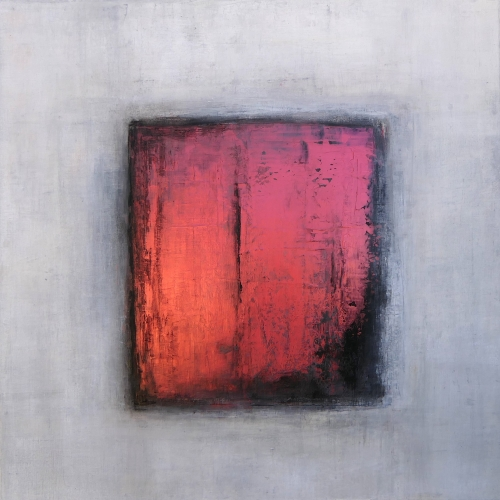 Copper II, abstrakte Malerei