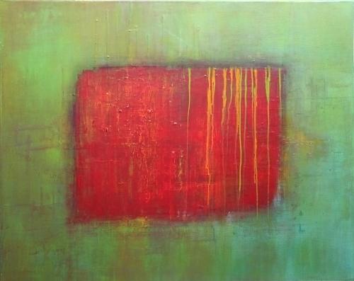 Ebenen, abstrakte Malerei