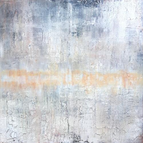 Etosha Pan, abstrakte Malerei