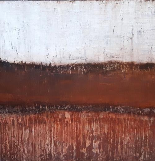 Kalahari, abstrakte Malerei