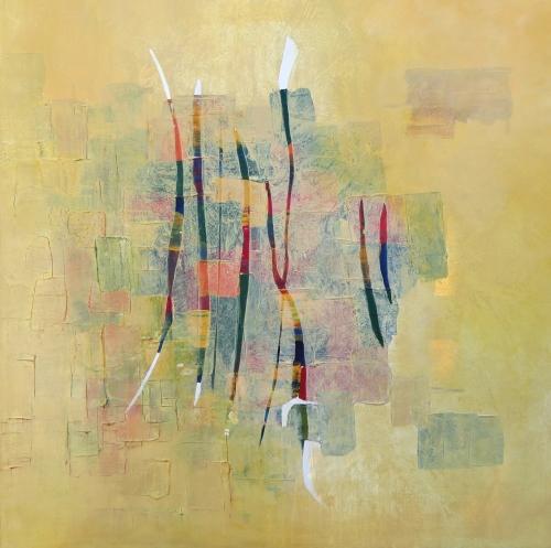 Marrakesch, abstrakte Malerei