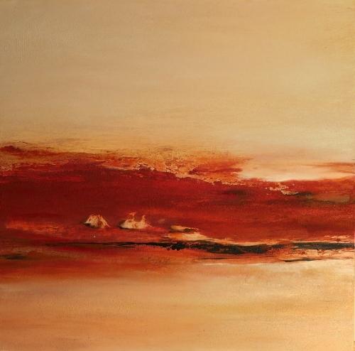 Namibia, abstrakte Malerei