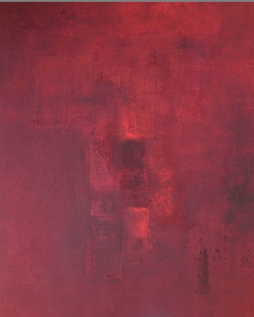 Rechtecke, abstrakte Malerei