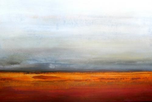Savanne, abstrakte Malerei