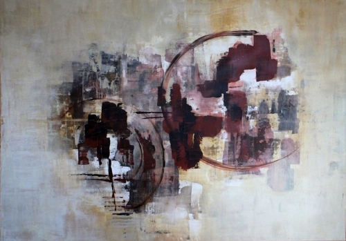 Spektrum, abstrakte Malerei