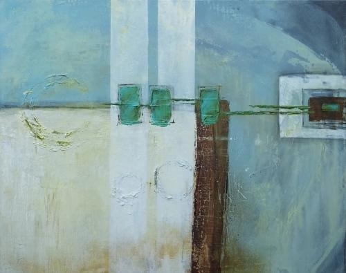 The World, abstrakte Malerei