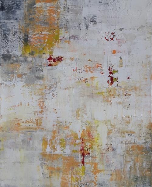 Akzente, abstrakte Malerei