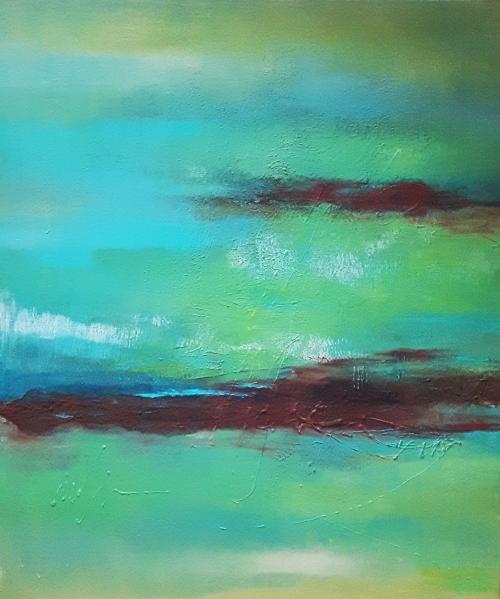 Australien, abstrakte Malerei
