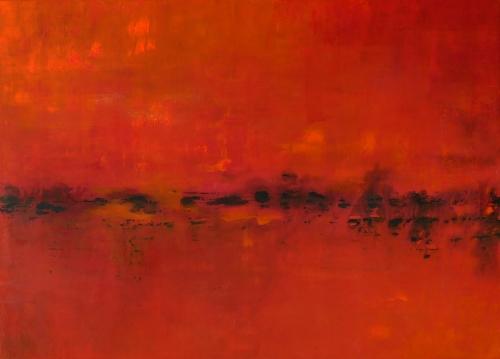 Energy, abstrakte Malerei