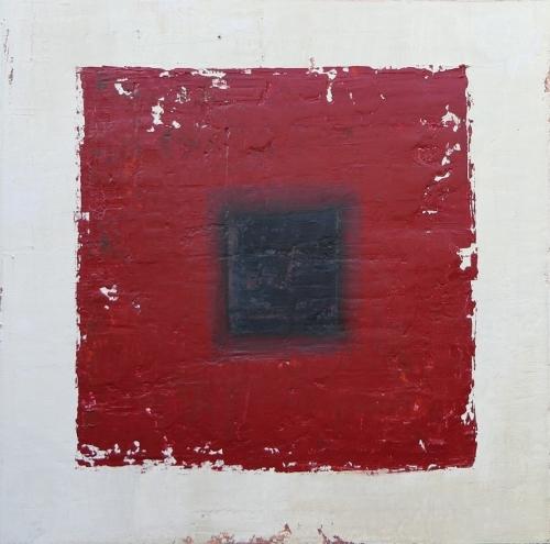 Leben II, abstrakte Malerei