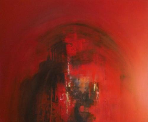 Magie, abstrakte Malerei