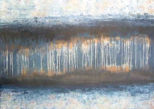 Tropfstein, abstrakte Malerei
