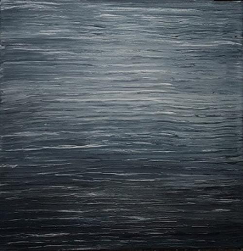 Meer 2, abstrakte Malerei