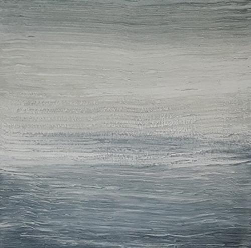 Meer, abstrakte Malerei