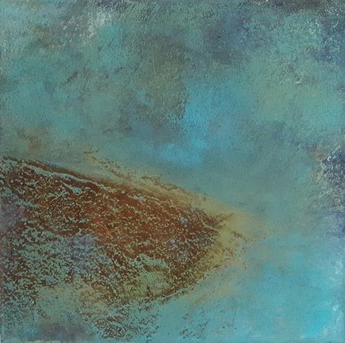 Rost, abstrakte Malerei