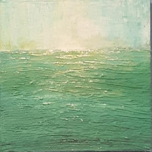 Sansibar I, abstrakte Malerei