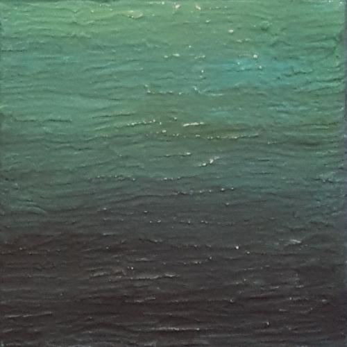 Sansibar II, abstrakte Malerei
