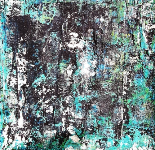 Trilogie 1, abstrakte Malerei