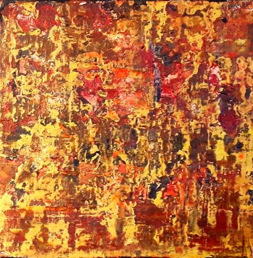 Trilogie 3, abstrakte Malerei
